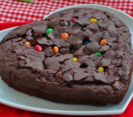 Bonibonlu Brownie Yapılışı