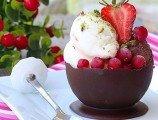 Çikolata Çanağında Dondurma