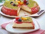 Kiraz Soslu Cheesecake
