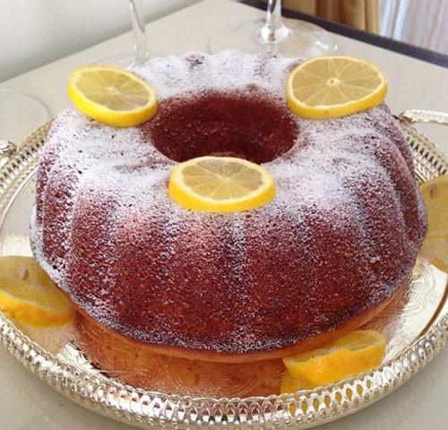 Limonlu ve Hindistan Cevizli Kek