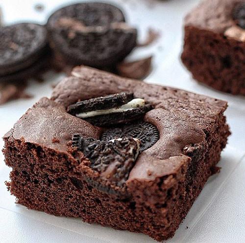 Oreolu Brownie ile ilgili görsel sonucu