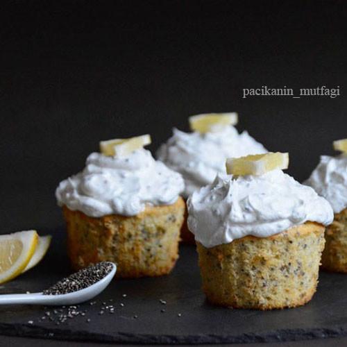 Chia Tohumlu Limonlu Kek