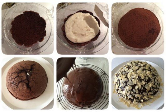 Köstebek Pastası Yapım Aşamaları