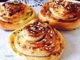 Sodalı Peynirli Rulo Poğaça