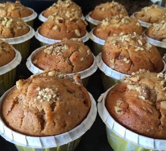 Kuşburnu Portakallı Muffinler