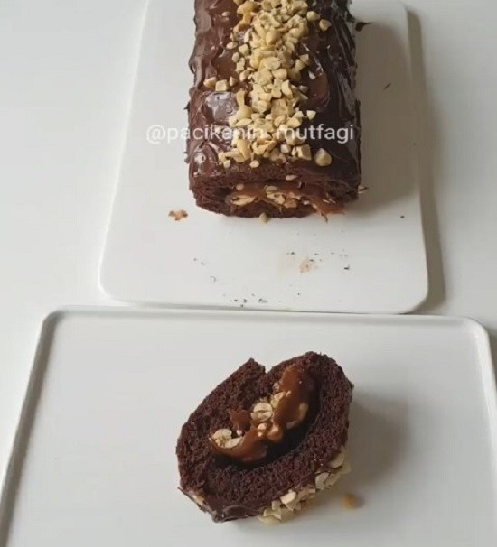 Snickers Rulo Pasta