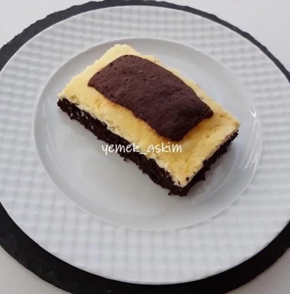 Labneli Kafes Kek