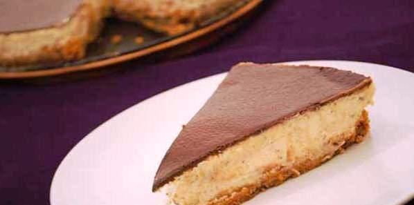 Badem Ezmeli Çikolatalı Ganaj Tarifi