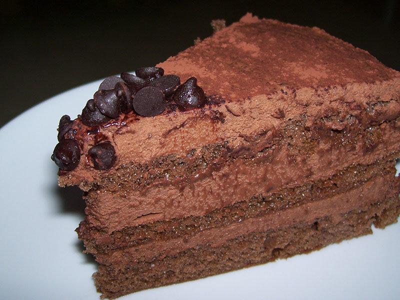 Çikolatalı Mus Pastası