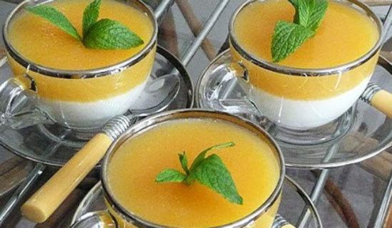Limon Pelteli Sütlü Tatlı Tarifi