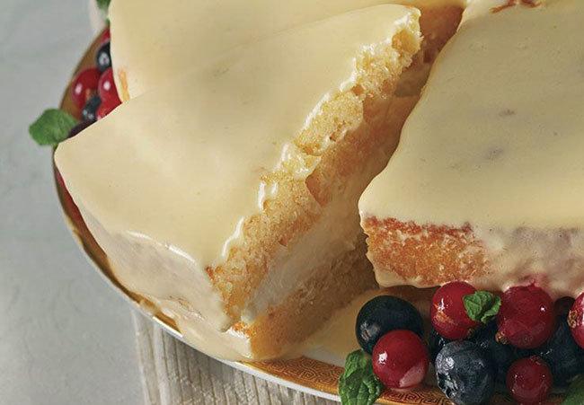 Limon Kremalı Pasta Tarifi