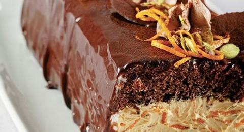 Portakallı ve Çikolatalı Baton Pasta Tarifi