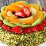 Rengarenk Meyveli Pasta